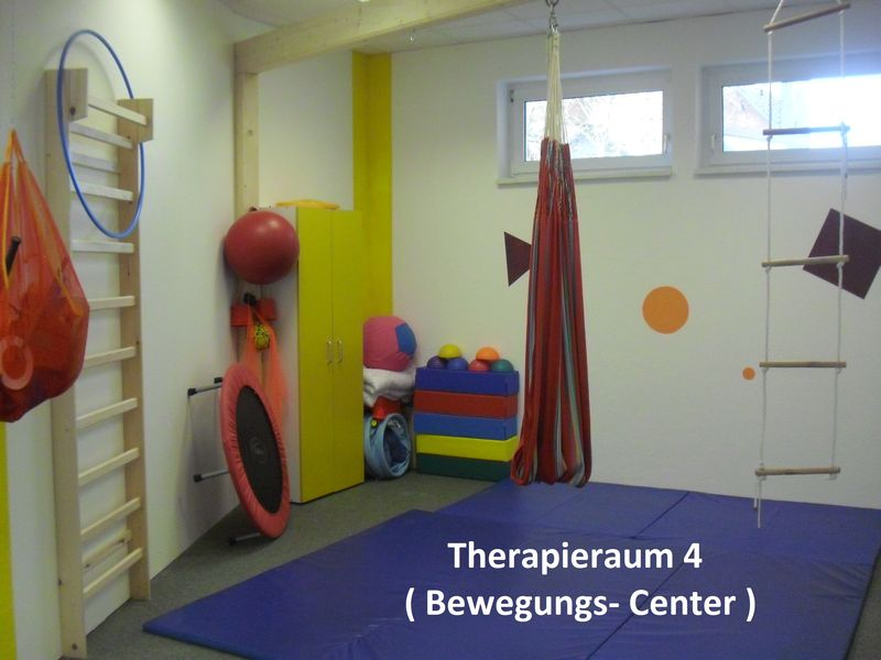 Therapieraum 4 ( Bewegungs- Center )